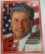 Time Magazine John Travolta Primary Colors March 1998 WITH ML 041715R