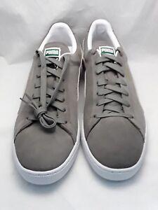 Herrenschuhe Humor Puma Men's Suede Classic Sneakers In Grey 35263466 Stiefel