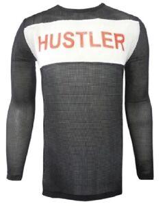 f106f90a2 Tyler Durden Hustler Mesh Shirt Fight Club Movie Costume Brad Pitt ...