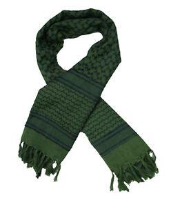 Chèche shemagh vert état neuf Armée Anglaise foulard écharpe keffieh ... ef854ee65c9