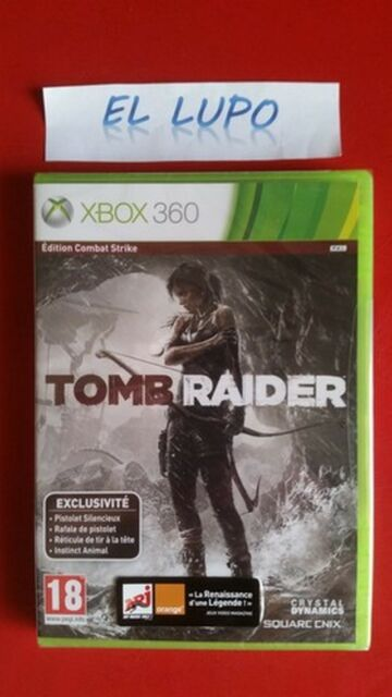 TOMB RAIDER EDITION COMBAT STRIKE XBOX 360 NEUF SOUS BLISTER VERSION FRANCAISE