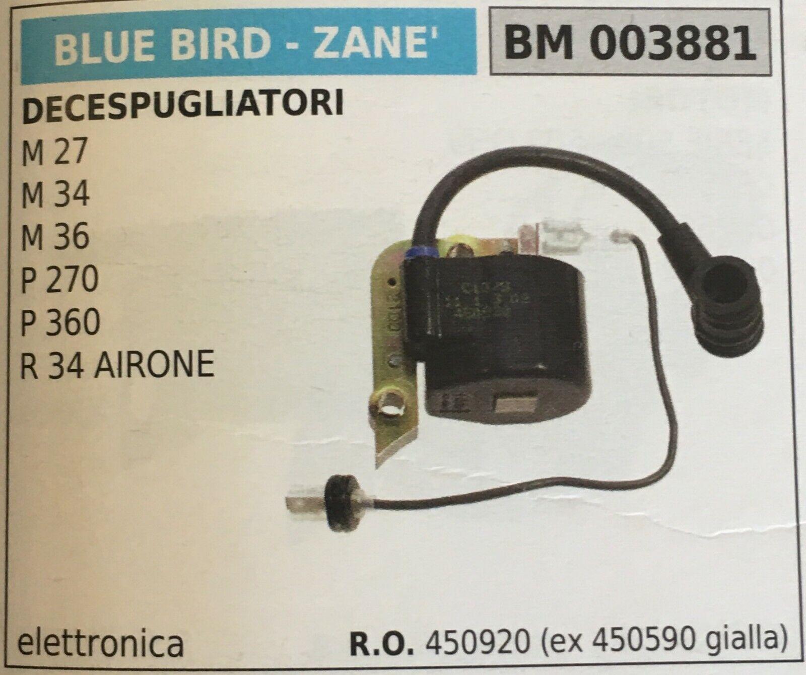 Bobina Electrónica azul Bird - Zane '