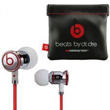 Genuine Monster Beats By Dr Dre Ibeats en Auriculares Auriculares Auriculares Blanco