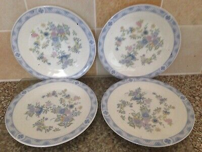 Royal Doulton Coniston Salad Side Plates X 4 8 Inches In Excellent Condition Ebay