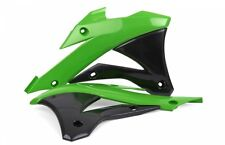 polisport Plastic Radiator scoop for Kawasaki KX85 14-16 - Green/Black