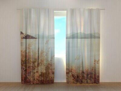 "Fotovorhang Fotogardinen /""Berge/"" Vorhang 3D Fotodruck Maßanfertigung"