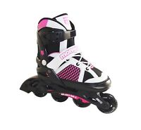 Mongoose Girl's Inline Skates Large, Colors Vary, New, Free Shipping