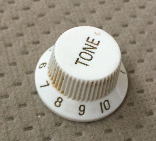 Ibanez Strat Style Electric Guitar Tone Switch Original White Knob