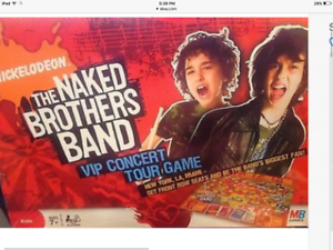 The Naked Brothers Band Board Game Factory Sealed   eBay