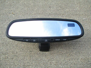 03-07 NISSAN MURANO REARVIEW REAR VIEW MIRROR AUTO DIM HOME LINK COMPASS