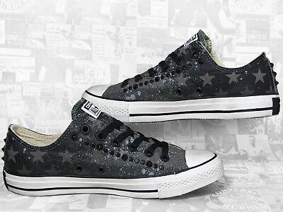 CONVERSE ALL STAR Studded Cotton Ox Chucks Herren Sneakers