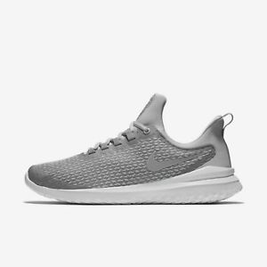 a25ba4384fa6 Nike Renew Rival Men's Running Shoes Stealth Wolf Grey White AA7400 ...