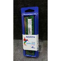 Adata 4gb Dimm Memory Module Pc3-12800 Ddr3-1600mhz 240-pin Ad3u1600w4g11-s