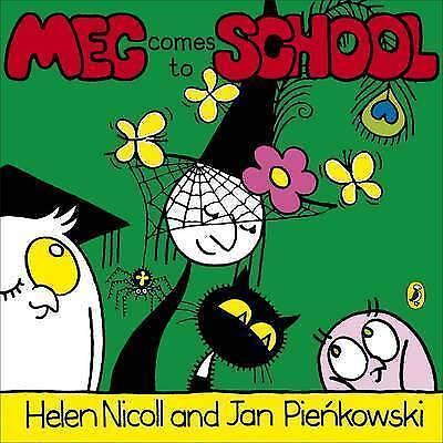 1 of 1 - Meg Comes to School (Meg & Mog)-ExLibrary