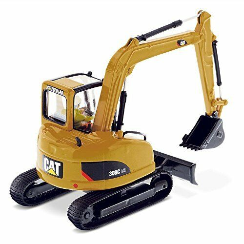 Caterpillar cat 308c mini hydraulic excavator 1 50 diecast model masters