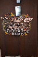 Duck Dynasty Men's T-shirt Tshirt Large X-large Xl Brown -