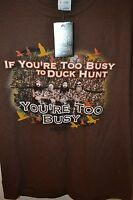 Duck Dynasty Men's T-shirt Tshirt Large X-large Xl Brown -