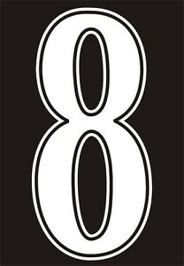 Football-shirt-number-for-just-1-per-digit-IRON-ON-or-heatpress-Vinyl-WHITE