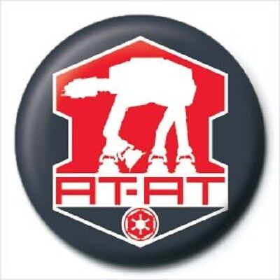 STAR WARS (AT-AT) - BUTTON BADGE official licensed merchandise SW1