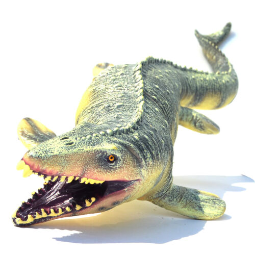 Jurassic Big Mosasaurus Dinosaur toy Soft PVC Action Figure Kids Christmas Gift