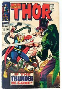 Thor-146-Bronze-Age-Marvel-Comics-Origin-Inhumans-VG-F