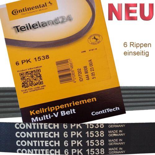 NOUVEAU Continental 6pk1538 crantées 11281706545-f1fg6c301da-ej6k1535