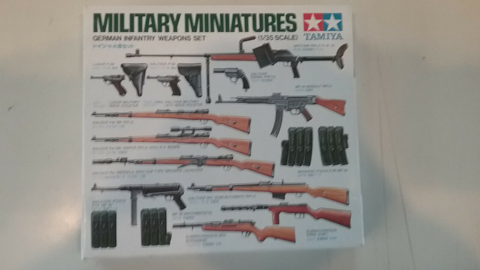 Tamiya 35121 1//35 Scale US ARMY INFANTRY WEAPONS SET Plastic Model Kit FREE SHIP