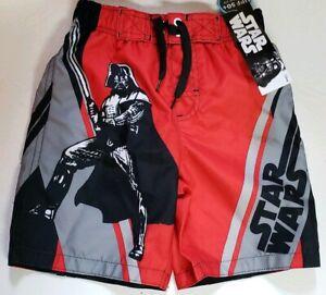 0b9b35bf73e7b Star Wars Boys Darth Vader Disney Swim Trunks Shorts Bathing Suit ...