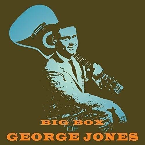 George Jones - Big Box of George Jones [New CD] UK - Import