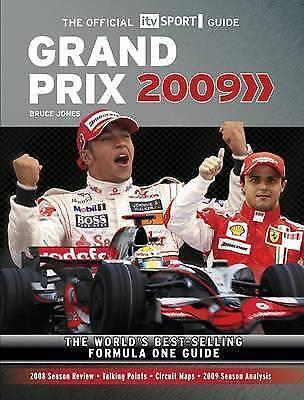 1 of 1 - Very Good, ITV Sport Guide Grand Prix 2009, Jones, Bruce, Book