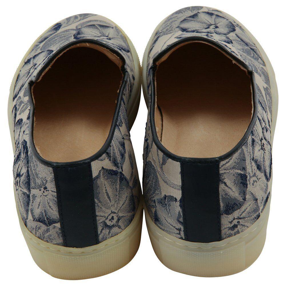 H By Hudson Woman Annuk Fabric Sneaker, Blau Fabric Annuk c2b658