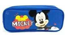 Disney Mickey Mouse Round Tube Pencil Case Blue Geek