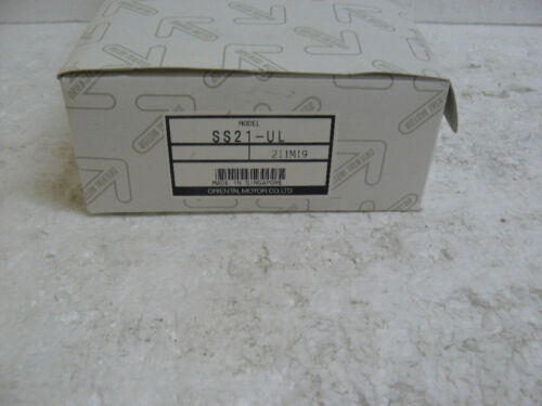 ORIENTAL MOTOR SS21-UL SPEED CONTROL PACK AC NEW