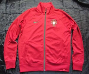 Image is loading PORTUGAL-Training-Authentic-ZIP-Jacket-NIKE-Soccer-Football - 67b1a4fa3