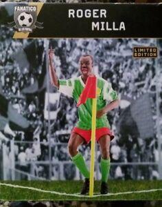 Fanatico 1//9 Statua Resina Roger Milla Cameroun Limited Edition