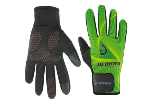 Cycling Gloves Full Finger Padded Silicon Grip Touchscreen MTB Bike Winter Glove