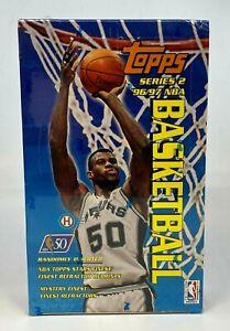 1996-97 Topps Series 2 Basketball Hobby Box Unopened Sealed Kobe Bryant RC Year