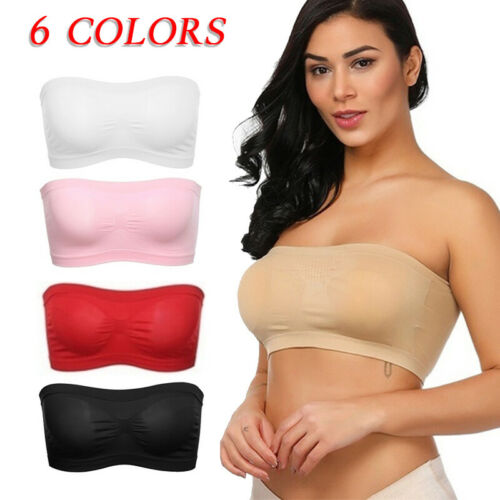 Strapless Transparent Invisible Multiway Clear Back Straps Bra Push up Underwear