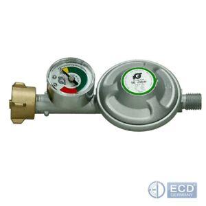 Druckminderer-50mbar-mit-Manometer-Gasregler-Campingregler-Druckregler
