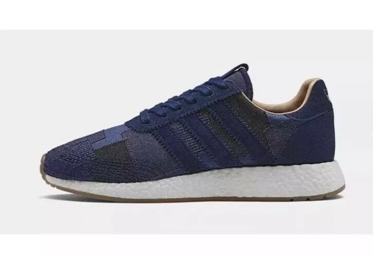 NEW Adidas Bodega End Iniki Runner BY2104 Boost Consortium Denim Sz 6 7 9 10 8.5