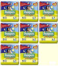 128 Pannolini PAMPERS SOLE E LUNA Pannolini Bambini taglia 5 Junior 11-25 kg