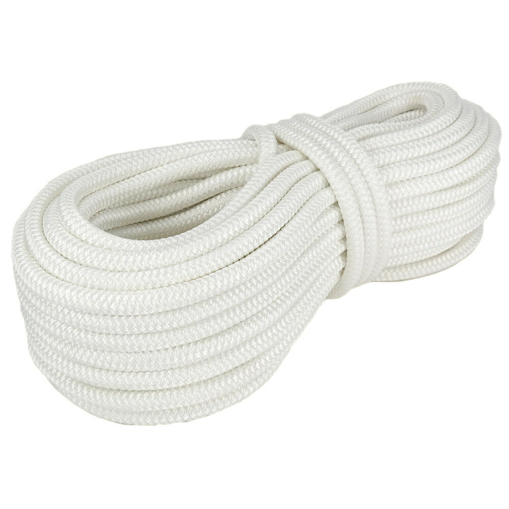 Polyester Rope PES 10mm 30m White Braided