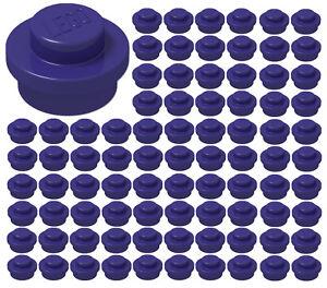 LEGO 1x1 Round Plates Dots Assorted Colors Bricks Small Tiny Bulk Pieces Lot