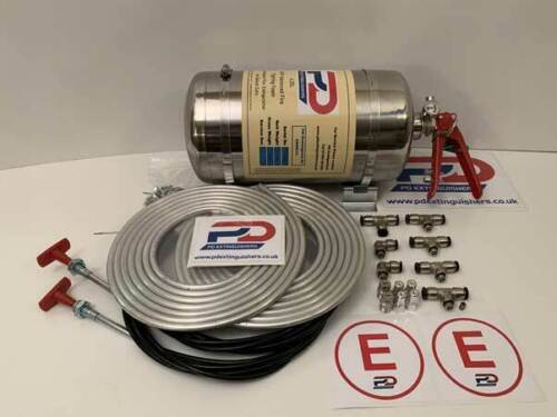 FIA Approved MSA Stainless Steel 4.25L AFFF Race Rally Car Fire Extinguisher