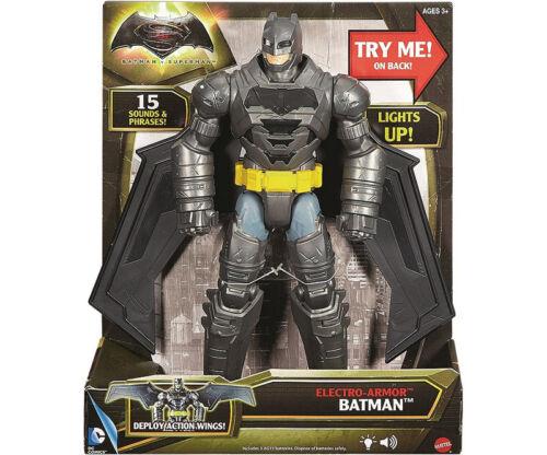 Batman vs Superman Deluxe Action-Figur 30cm Electro-Armor Panzer Batman DPB06
