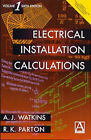 Electrical Installation Calculations: v. 1 by A. J. Watkins (Paperback, 1998)