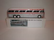 1/43 BUS GMC GM-4901 Aro Coaches Inc. Bus Tours /1954