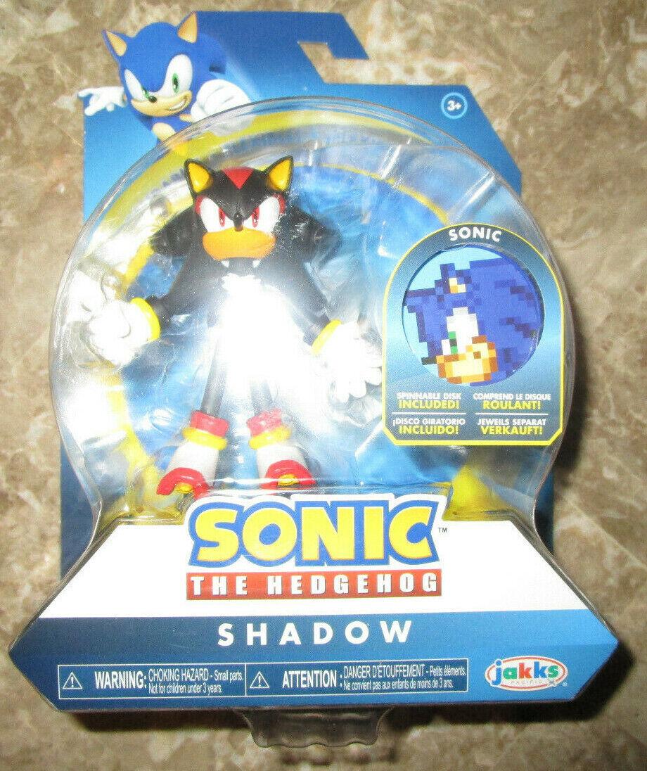Sonic The Hedgehog Bendable sombra figura 4  BENDY JAKKS PACIFIC 2019 flexible