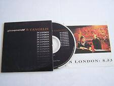 CD SINGLE DE NEURONIUM ET VANGELIS , 2 TITRES + PHOTO BONUS .  BON ETAT .