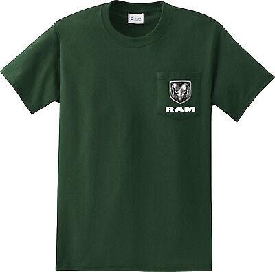 DODGE RAM Hemi T-Shirt Poche Imprimé